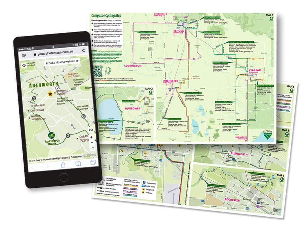 Campaspe-Cycling-Map